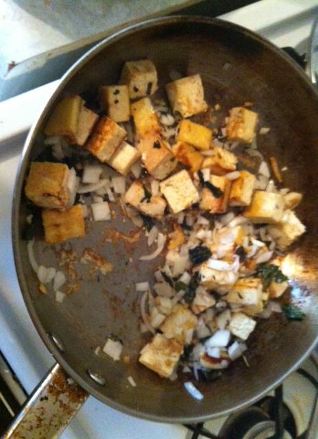 pak choi tofu cooking